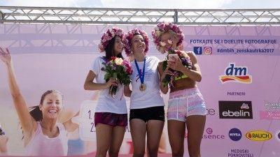 1. dm ženska utrka, 2.7.2017. godine, Sarajevo