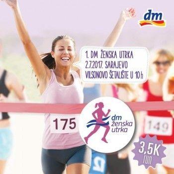 Jeste li spremne za 1. dm žensku utrku?!
