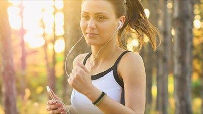 U ritmu muzike za trčanje...