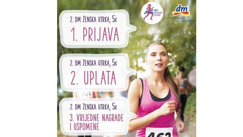 Pripreme za 2. dm žensku utrku